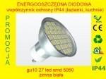 Żarówka gu10 27 LED SMD 5050 Aluminiowa obudowa Biała zimna teraled.pl IP44 warszawa
