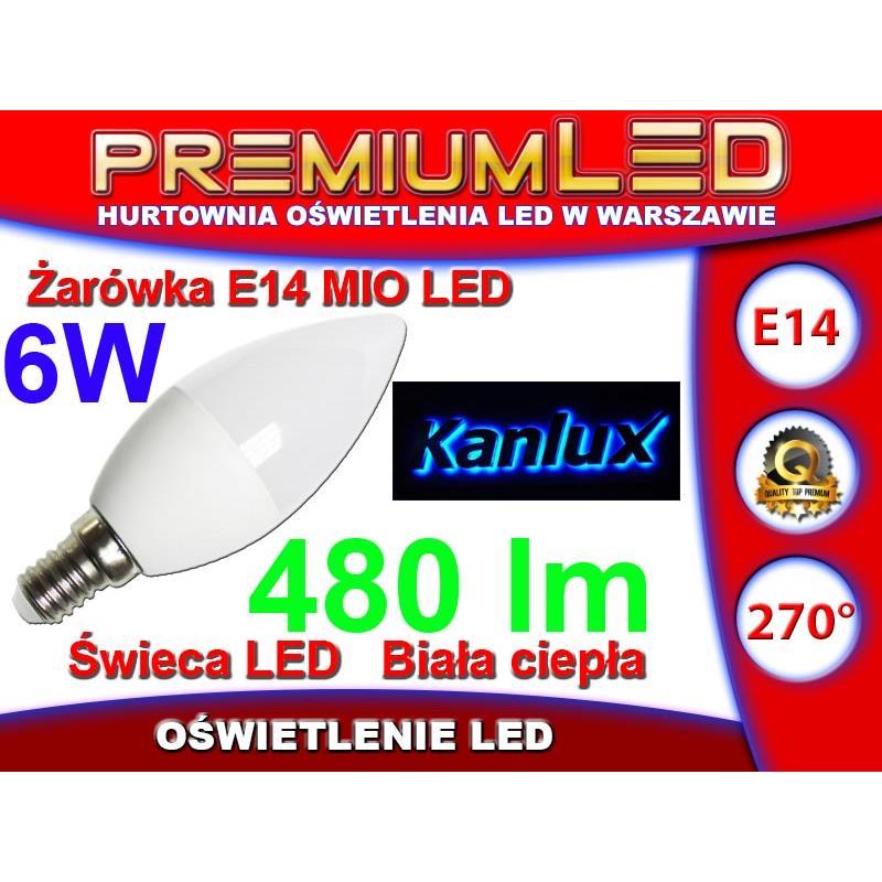 Kanlux żarówka Mio Led 6w E14 Ww Ciepła Biała Warszawa Bartycka 116